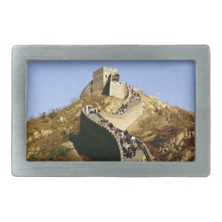 Great Wall of China Rectangular Belt Buckle