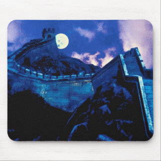 Great Wall of China with moon Mouse Pad