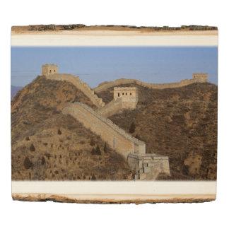 Great Wall of China Wood Panel
