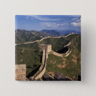 Great Wall winding through the mountain, Button