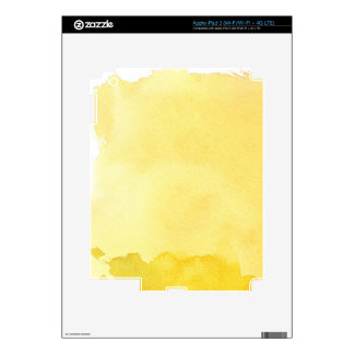 great watercolor background - watercolor paints 2 iPad 3 decals