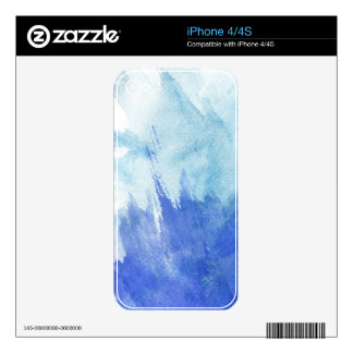 great watercolor background - watercolor paints 4 decal for the iPhone 4S