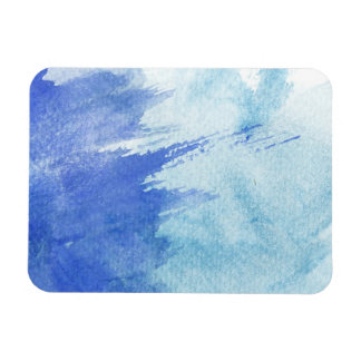 great watercolor background - watercolor paints 4 rectangular photo magnet