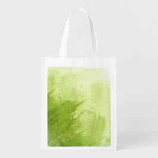 great watercolor background - watercolor paints 5 grocery bag
