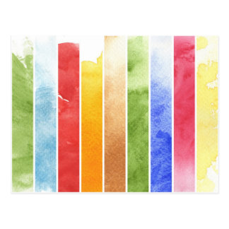great watercolor background - watercolor paints 5 postcard