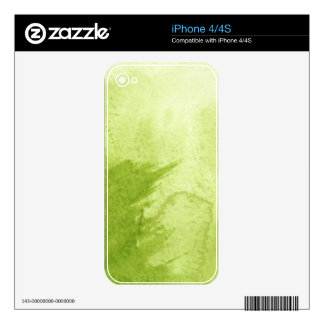 great watercolor background - watercolor paints decal for iPhone 4
