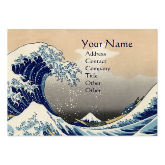 GREAT WAVE LARGE BUSINESS CARDS (Pack OF 100)