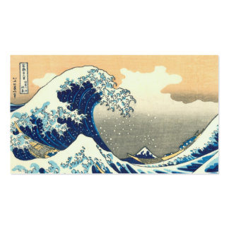 Great Wave Business Cards