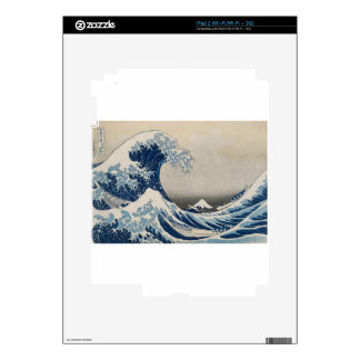 Great Wave Decal For The iPad 2