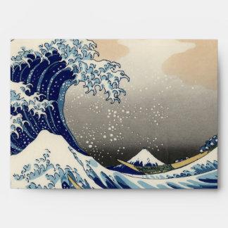 GREAT WAVE ENVELOPE