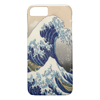 Great Wave Fine Art 葛飾北斎「神奈川沖浪裏」 iPhone 7 Case