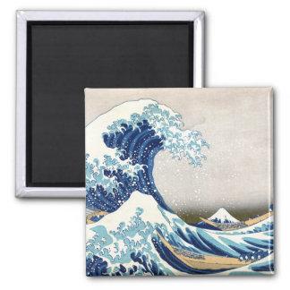 Great Wave Hokusai 葛飾北斎の神奈川沖浪裏 Magnets