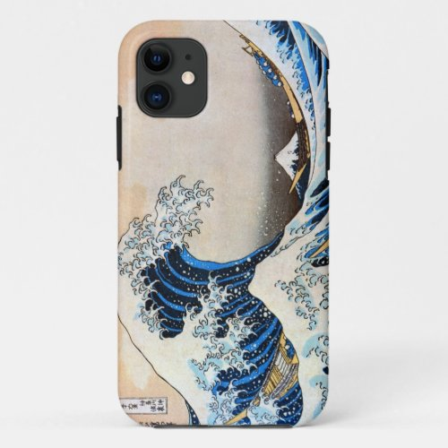 Great Wave, Hokusai, Ukiyo-e Phone Case