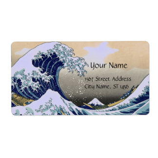 GREAT WAVE CUSTOM SHIPPING LABELS