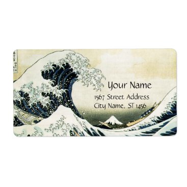 Professional Business GREAT WAVE LABEL