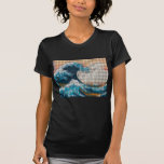 Great Wave Mosaic T-Shirt