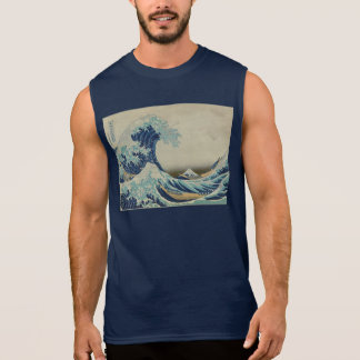 Great_Wave_off_Kanagawa2 Sleeveless Shirt