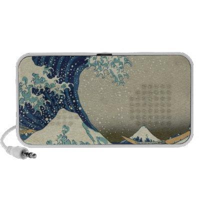 Great_Wave_off_Kanagawa2 Travelling Speaker