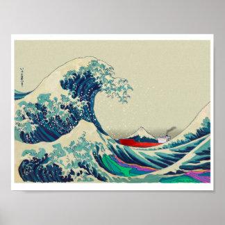 Great Wave off Kanagawa 2016 Poster
