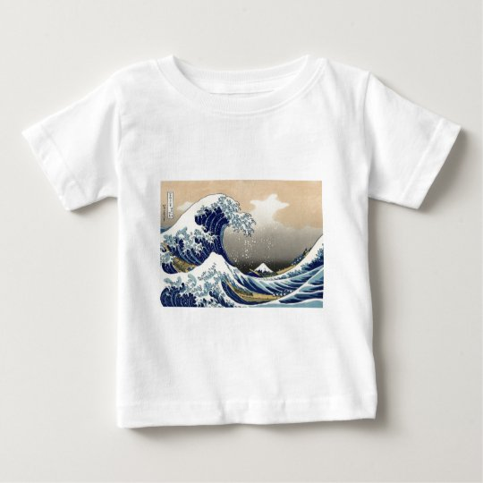 Great Wave off Kanagawa Baby T-Shirt