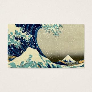 Great Wave Off Kanagawa Business Card