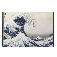 Great Wave Off Kanagawa By Hokusai Cover For Ipad Air at Zazzle