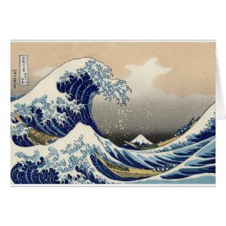 Great Wave off Kanagawa Card