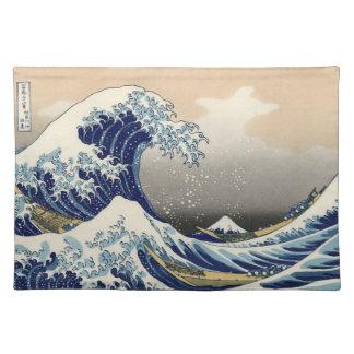 Great Wave Off Kanagawa Cloth Placemat