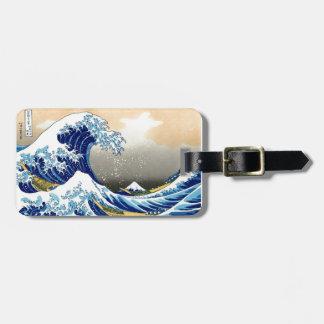 Great Wave off Kanagawa ~ Hokusai Bag Tag