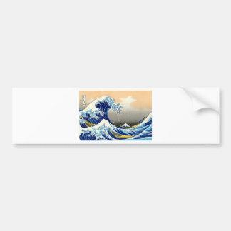 Great Wave off Kanagawa ~ Hokusai Bumper Sticker