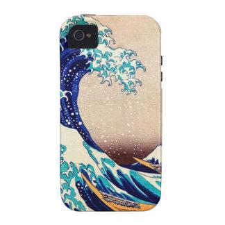 Great Wave Off Kanagawa Hokusai Japanese Vintage Case For The iPhone 4