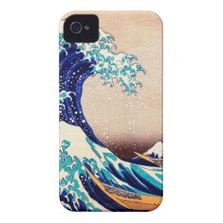 Great Wave Off Kanagawa Hokusai Japanese Vintage Case-Mate iPhone 4 Case