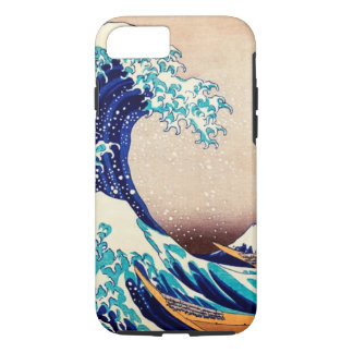 Great Wave Off Kanagawa Hokusai Japanese Vintage iPhone 7 Case