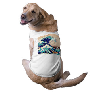 Great Wave Off Kanagawa Hokusai Japanese Vintage T-Shirt
