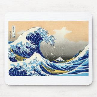 Great Wave off Kanagawa ~ Hokusai Mousepads