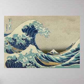 Great Wave Off Kanagawa Hokusai Print