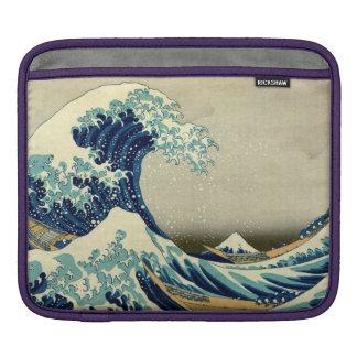 Great Wave Off Kanagawa iPad Sleeve