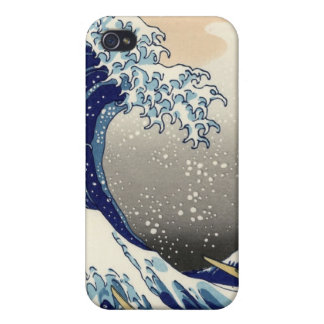 Great wave off Kanagawa iPhone 4 case