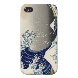 Great Wave off Kanagawa iPhone 4/4S Covers