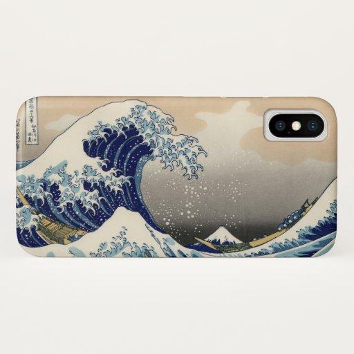 Great Wave off Kanagawa Japan Mount Fuji iPhone XS Case