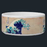 "Great Wave Off Kanagawa Japanese Vintage Fine Art Bowl<br><div class=""desc"">Katsushika Hokusai The Great Wave Off Kanagawa (1830) The Great Wave off Kanagawa, also known as The Great Wave or simply The Wave, is an ukiyo-e print by Japanese artist Hokusai, published sometime between 1830 and 1833 in the late Edo period as the first print in Hokusai&#39;s series Thirty-six Views...</div>"