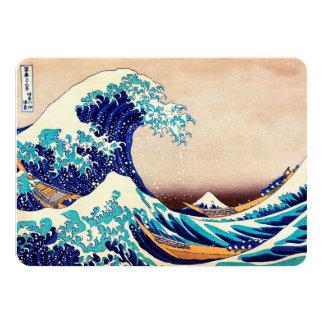Great Wave Off Kanagawa Japanese Vintage Fine Art 4.5x6.25 Paper Invitation Card