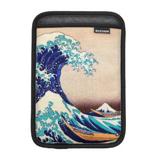 Great Wave Off Kanagawa Japanese Vintage Fine Art iPad Mini Sleeves