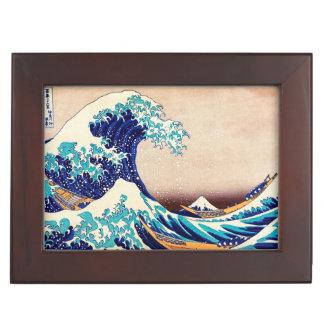 Great Wave Off Kanagawa Japanese Vintage Fine Art Memory Box