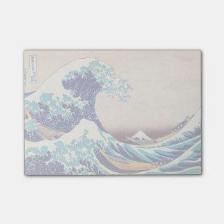 Great Wave Off Kanagawa Japanese Vintage Fine Art Post-it® Notes