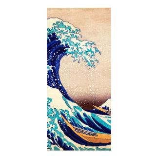 Great Wave Off Kanagawa Japanese Vintage Fine Art Rack Card