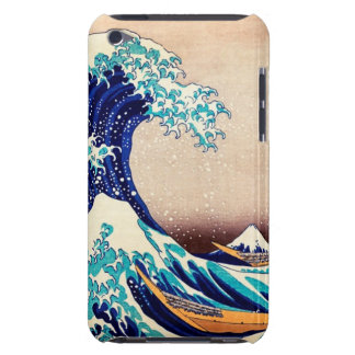 Great Wave Off Kanagawa Japanese Vintage Print Art Barely There iPod Case