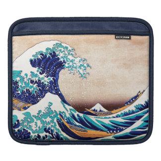 Great Wave Off Kanagawa Japanese Vintage Print Art Sleeve For iPads