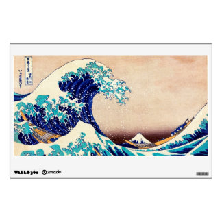 Great Wave Off Kanagawa Japanese Vintage Print Art Wall Decal
