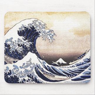 Great Wave Off Kanagawa Japanese Woodblock Print Mouse Pad